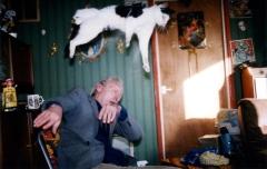 Richard Billingham: Sin título. De la serie Ray es una risa, 1995 Cortesía / Courtesy Anthony Reynolds Gallery, London © Richard Billingham