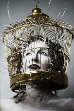 """""""La mujer de alambre"""". © Sonia Balduque"""