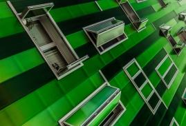 Green Diagonal. © María Eugenia Espino