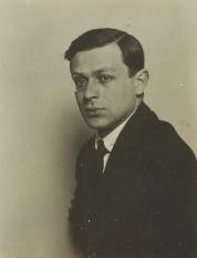 Tristan Tzara (c. 1921), Man Ray