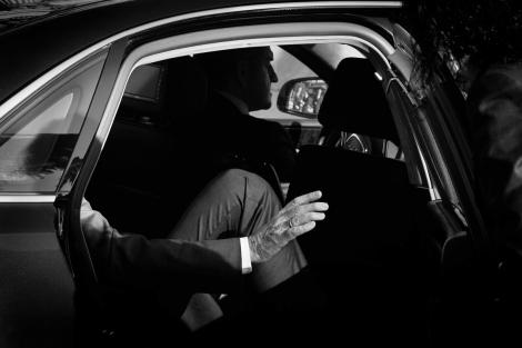 """""""La mano del poder, M. Rajoy"""". © Eulogio Valdenebro."""