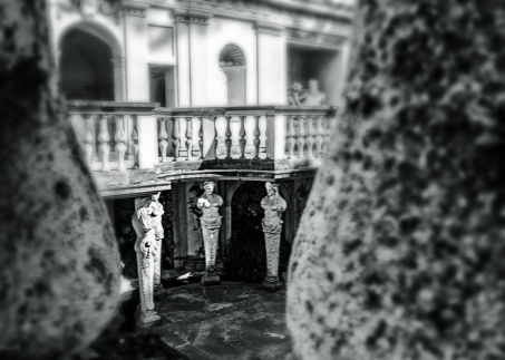 Las Cariátides de Roma. © María Eugenia Espino.