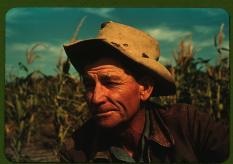 Fotógrafo: Russell Lee (1903-1986). Jim Norris. Pie Town, New Mexico. Octubre de 1940. LC-USF35-356