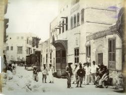Felice Beato. 1884/85 Fotografía de la casa de Osman Digna en Suakin (Sudán). COPY 1/373/393