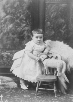 II-80374.1 Baby Meeker, Montreal, QC, 1886 Wm. Notman & Son 1886, 19th century Notman photographic Archives - McCord Museum