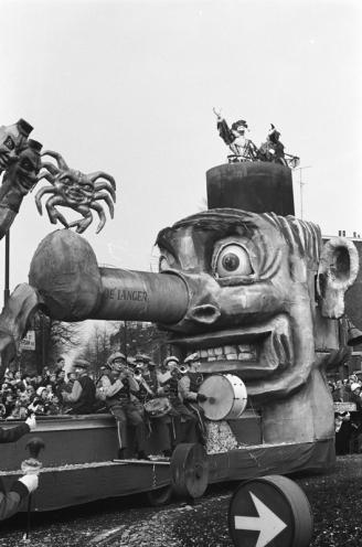 Carnaval en Bergen op Zoom, 1962.