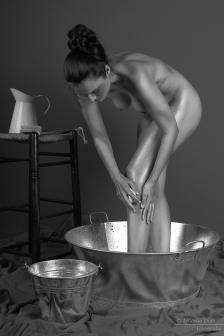 La hora del baño. © Antonio Diaz