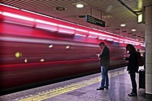 Metro Copenhaguen. © Mónica Martínez Muñoz
