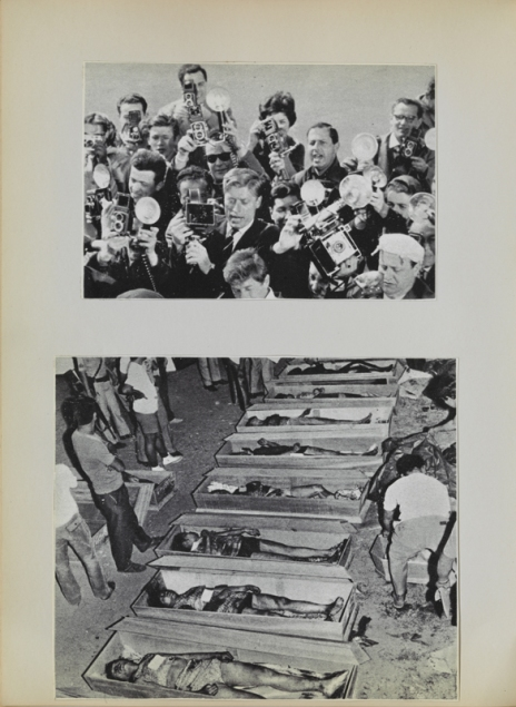 Eulalia Grau. Cancionero de los hombres verticales y de los hombres horizontales, 1975. Impresión tipográfica y offset sobre papel 29,5 x 22 cm Colección particular Crédit fotogràfico: Gasull Fotografia