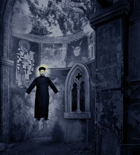 "Miracles & Co series: ""Miracle of levitation"", 2002 © Joan Fontcuberta"