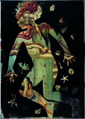 """Palimpsest series: """"La Nascita de Venus"""", 1992 © Joan Fontcuberta"""